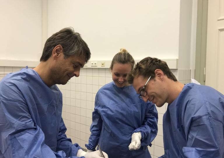 ACP Anatomie OP-Techniken Kurs Innsbruck 2018
