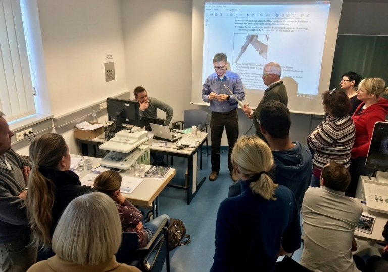 Endosonokurs 2017 Innsbruck Precongress ICW